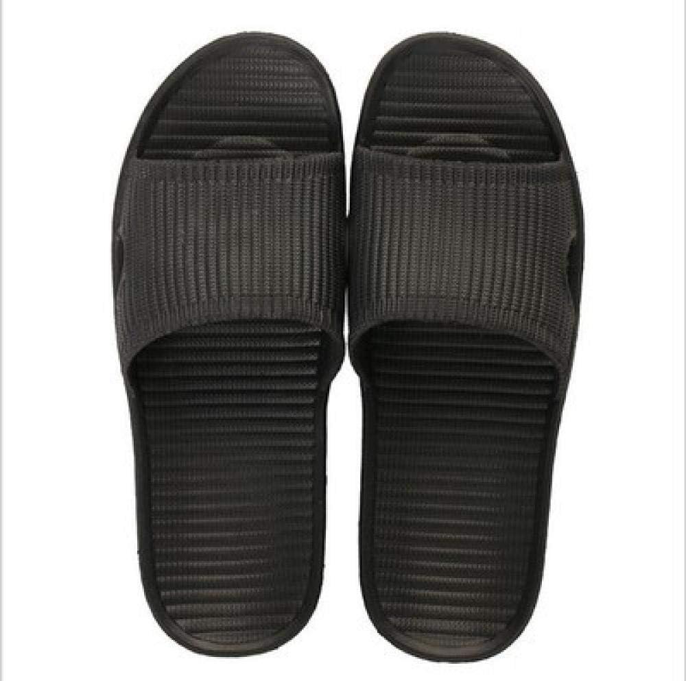 Nwarmsouth Zapatillas de Masaje de pies, Slip On Slide, Sandalias y Zapatillas de baño de Verano, Sandalias de Plataforma de Masaje para el hogar para Hombres, S Black_38-39: Amazon.es: Deportes y aire
