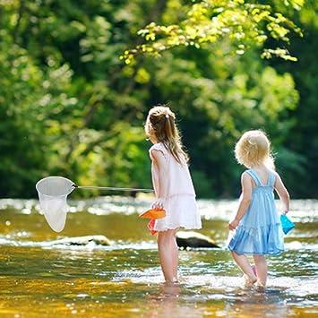Lewo Retino per Farfalle Rete da Pesca Reti di Insetti Telescopici Strumenti per Bambini AllAperto Giocattoli da Giardino per Insetti Che Catturano Insetti
