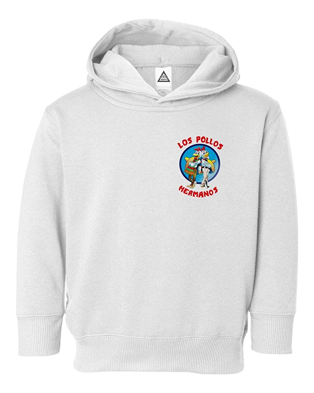 Sheki Apparel Los Pollos Hermanos Funny TV Parody Little Kids Pullover Hoodie Toddler Sweatshirt