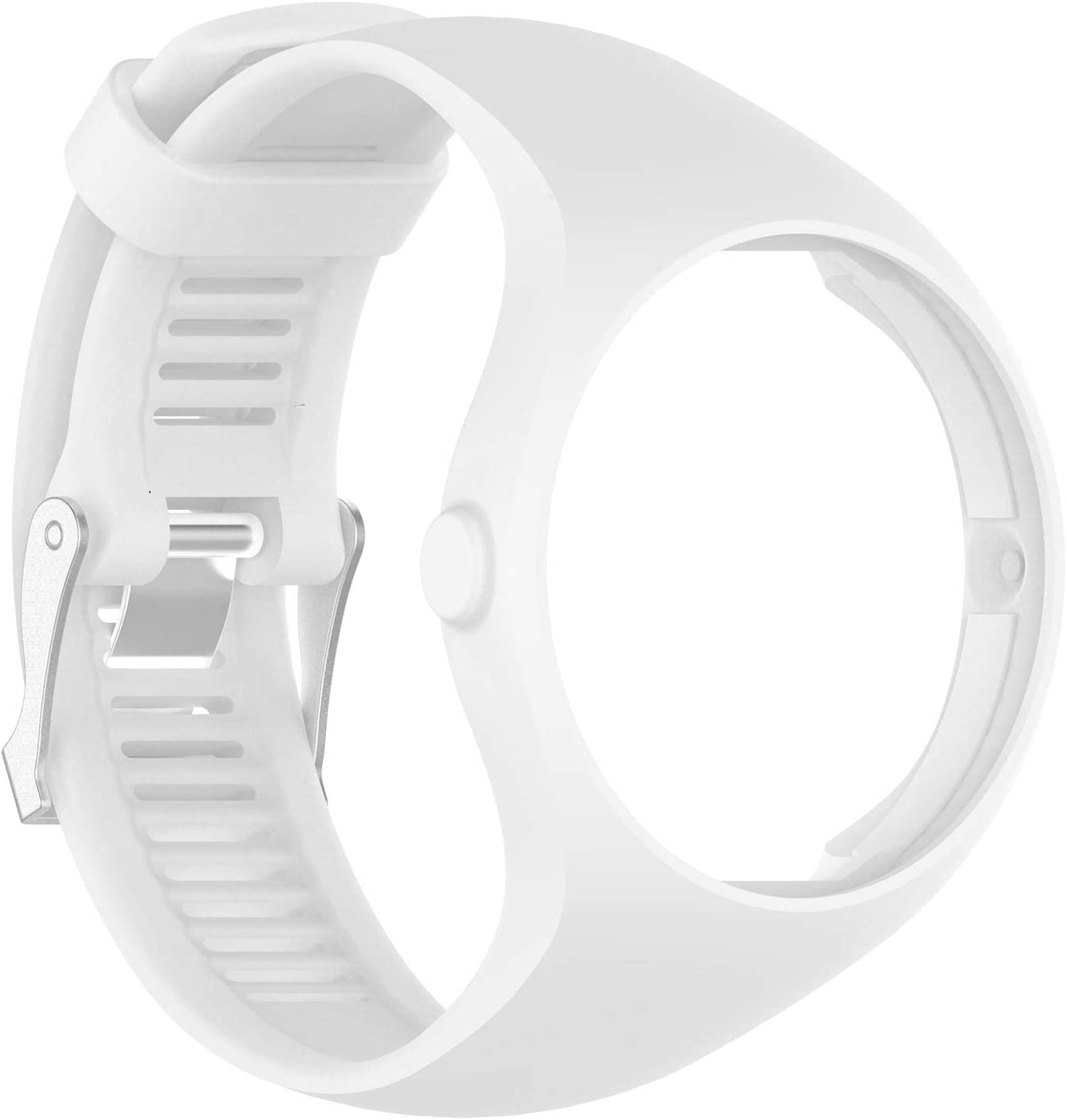 QGHXO Band for Polar M200, Soft Adjustable Silicone Replacement Wrist Watch Band for Polar M200 Watch