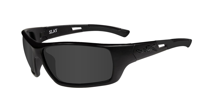 c191cf7c6e WILEY X SLAY Black Ops   Smoke Grey Matte Black Frame  Amazon.es  Deportes y  aire libre