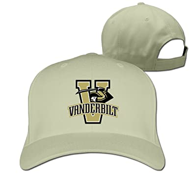 hot sale online 328b7 4bb2f ... aliexpress amazon jxmd unisex vanderbilt university baseball hats  natural clothing 395e9 0c0a9