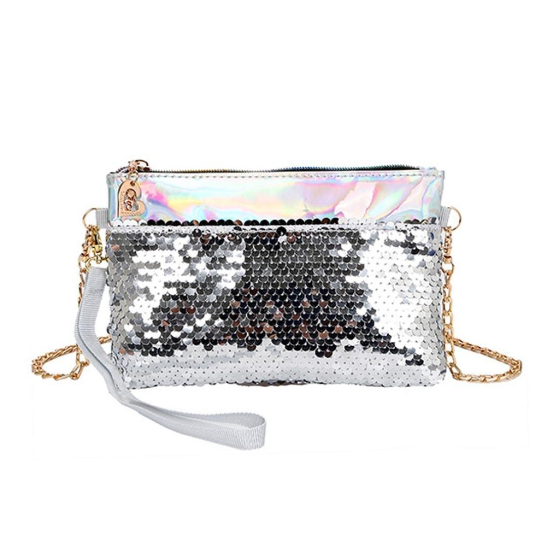 Amazon.com: Clearance ventas moda lentejuelas bolsa de playa ...