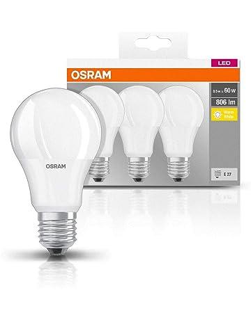 Osram Base Classic A - Lámpara LED, E27, 9 W=60W, color