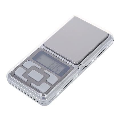 SODIAL(R) Mini Bascula Balanza Digital 0.01g a 100g LCD Electronico Precision