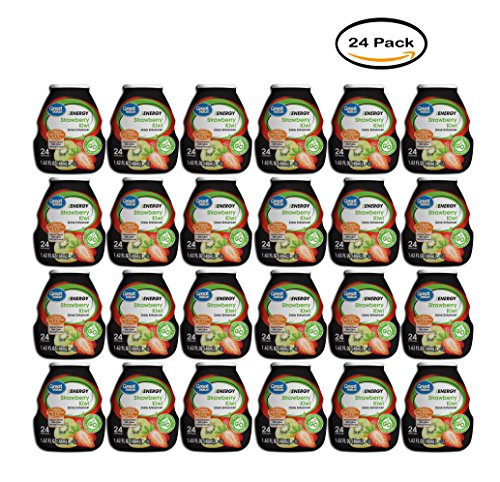 PACK OF 24 - Great Value Drink Mix, Strawberry Kiwi, 1.62 Fl Oz, 1 Count by Great Value