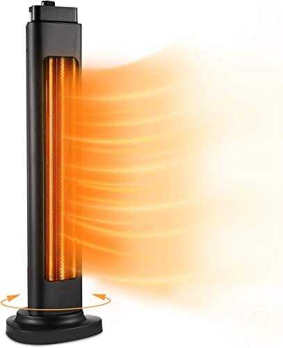 Patio Heater-750/1500W ETL Certified Electric Space Heater