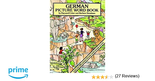 German Picture Word Book (Dover Children's Language Activity Books ...
