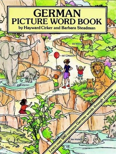 German Picture Word Book (Dover Children's Language Activity Books) from Dover Publications