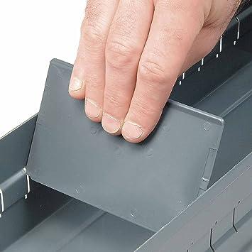 Durham Steel Parts Drawer Cabinet Dividers, 5 1/4u0026quot;W X 3