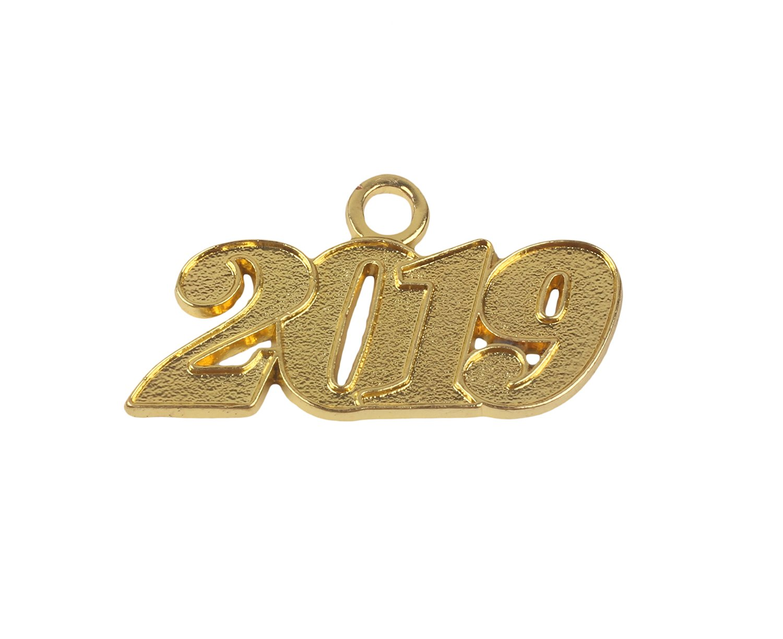 Graduation Alloy Silver 2019 Year Charm for Graduation Tassel
