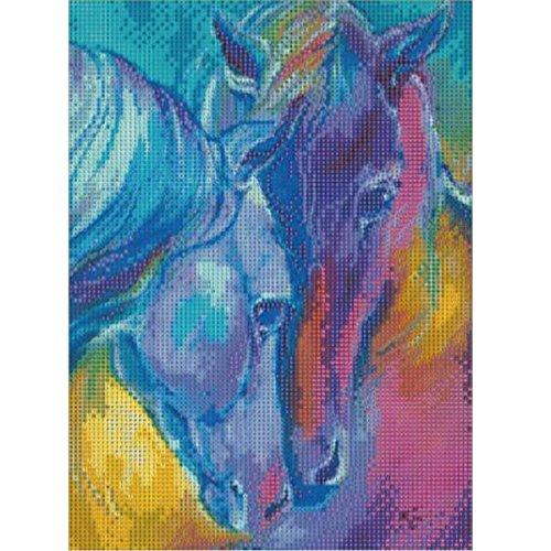 11.8 x 15.8 inch 5D DIY Diamond Painting,Full Drill Unicorn Cross Stitch Kits for Adults Rhinestone Arts Craft Canvas Wall Decor No Frame