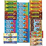 Healthy Snacks, Variety Pack, Breakfast Bars, Including Nature Valley, Belvita, Clif, Nutri Grain, Chewy and Fiber One