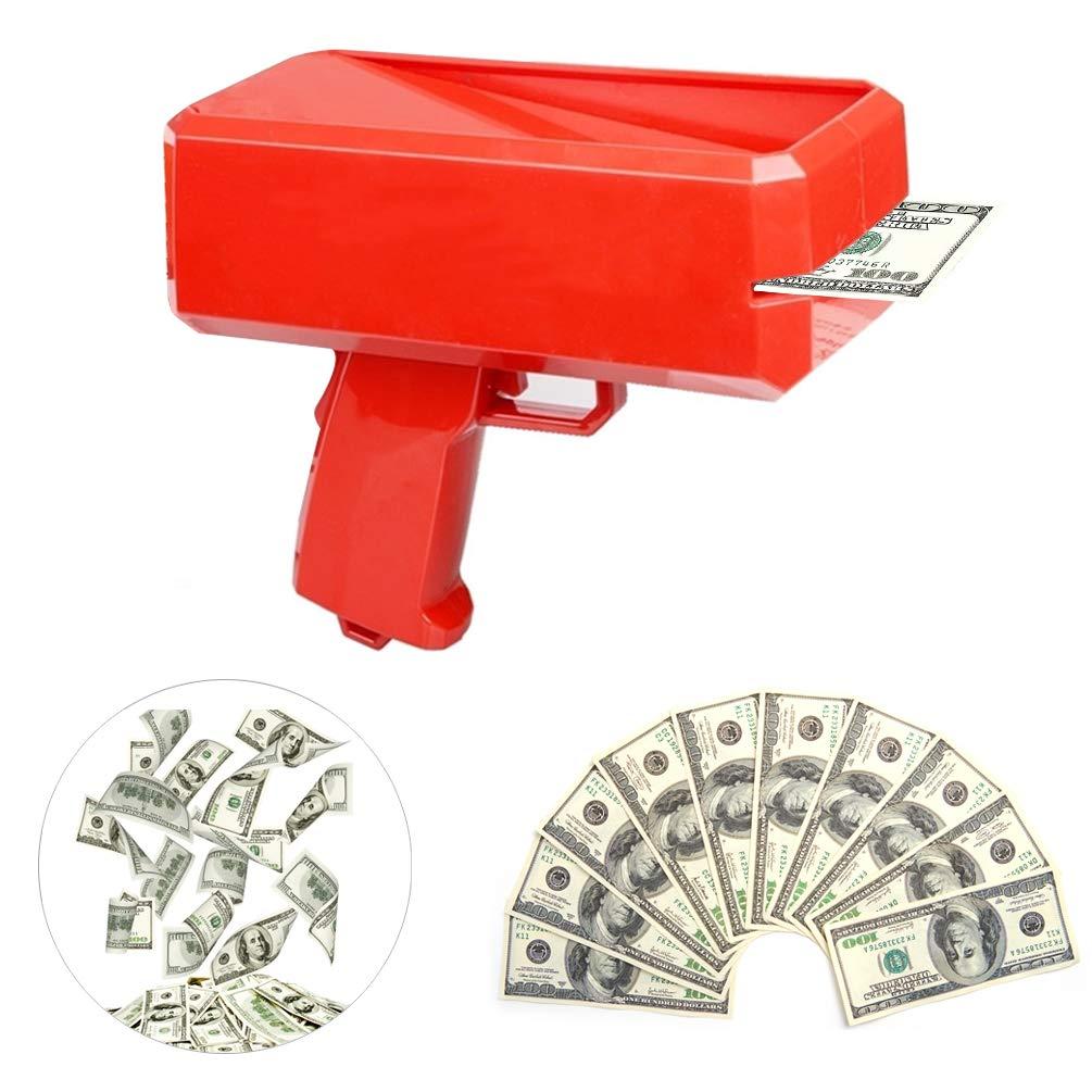 SY Make it Rain Gun Spray Money Gun Money Shooter Gun for Weddning Other Party Games