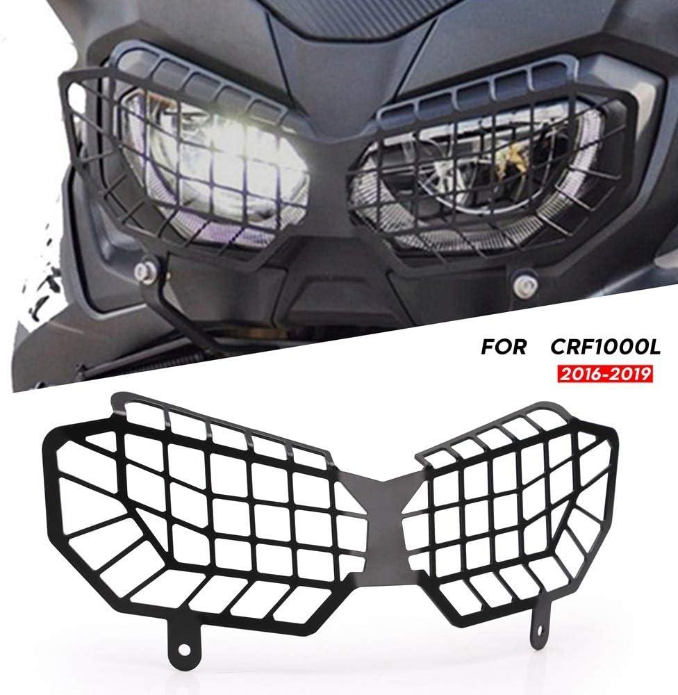 Fransande Grille de protection pour phare de moto CRF1000L Africa Twin Adventure Sports 2016-2019