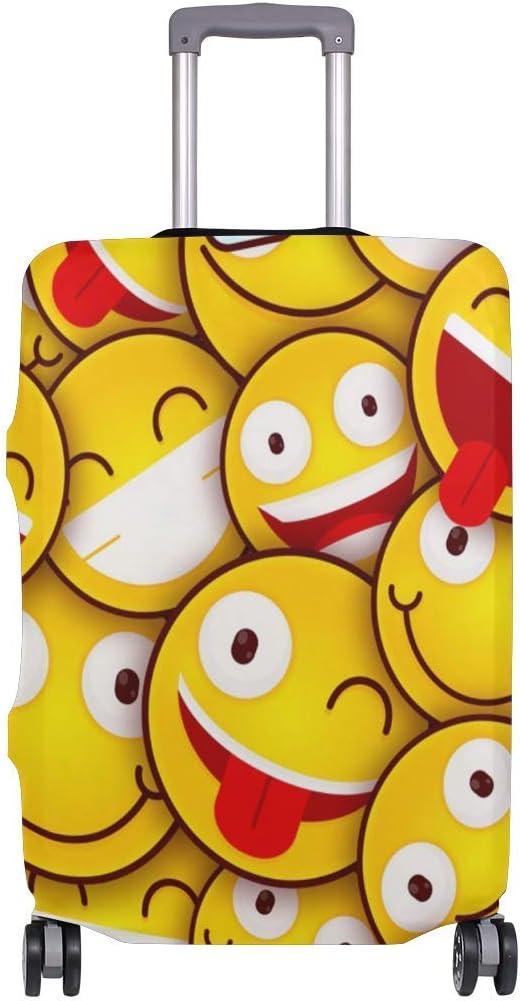Emoticonos Felices coloreados en Maletas de Viaje Bien escogidas Planas para viajeros con Ruedas giratorias Maleta de Equipaje de 20 Pulgadas