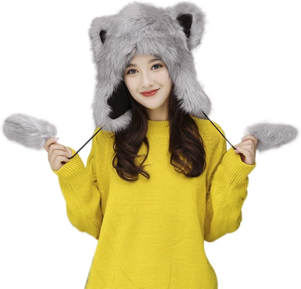 Cute Faux Fur Earmuff...