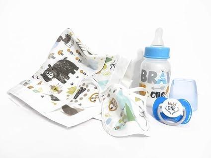 Amazon.com: Dunn Associates Inc - Juego de baberos para bebé ...