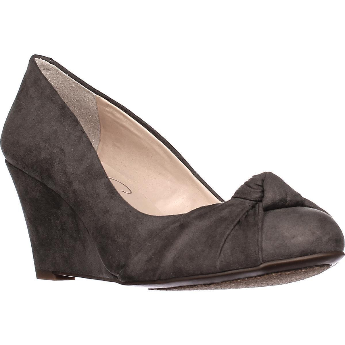 Jessica Simpson Women's Siennah Wedge Pump B01N4EWWCZ 9.5 B(M) US|Gray