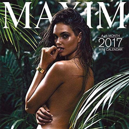 Maxim Mini Calendar 2017 -- Deluxe Maxim Magazine Small Wall Calendar (7x7)