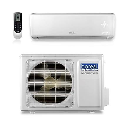 boreal EQX12HPJ1SB - 12,000 BTU 22 SEER Equinox Wall Mount Ductless Mini Split Air Conditioner Heat Pump 208-230V