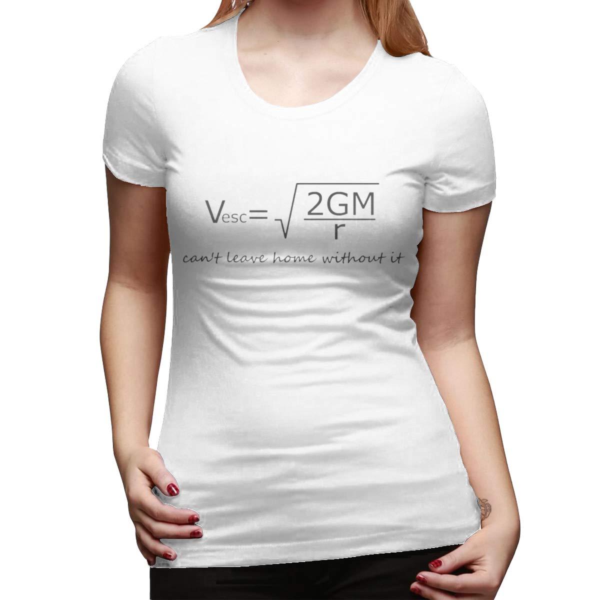 Seuriamin Escape Velocity S Funny Sports Round Neck Short Sleeve T Shirt Tops