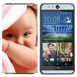TECHCASE---Cubierta de la caja de protección para la piel dura ** HTC Desire Eye ( M910x ) ** --Naturaleza hierba verde