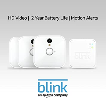 Amazon.com: Blink Indoor Home Security Camera System with Motion Detection, HD Video, 2-Year Battery Life and Cloud Storage Included - 3 Kit: Amazon