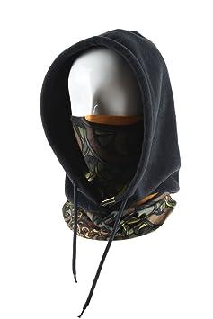 LayOPO Sahoo Estilo Puebla Noche funcional sombrero de gorra esquí máscara caliente de casco de esquí contra frío y viento con el Mosquetón de LayOPO: ...