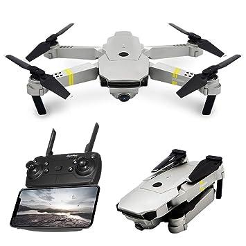 HuaMore - Dron para Selfies (Gran Angular, 120°, 720p, WiFi, RC ...