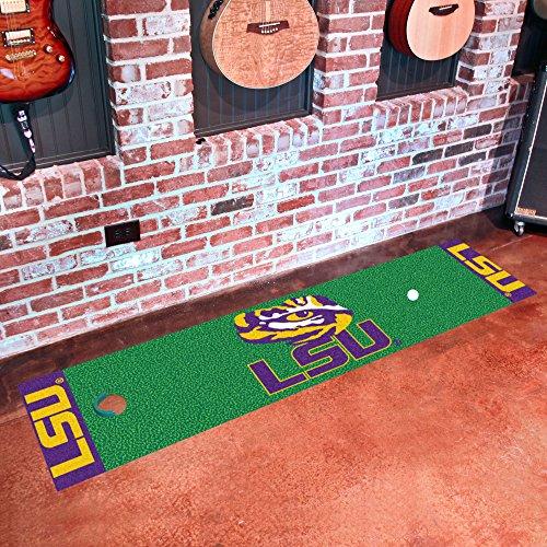 Louisiana State University Putting Green Mat for Golf Fans