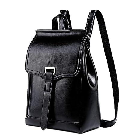 2deb4ce506a1 Amazon.com : EHOO Women Genuine Leather Travel Backpack, Handbag ...