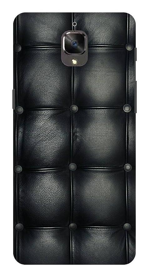 One Plus 3t Case Black Leather Sofa Texture Attractive