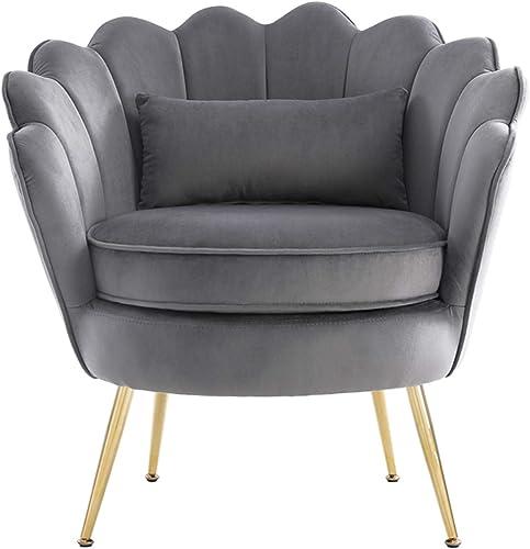 Deal of the week: WQSLHX Gray Velvet Chair