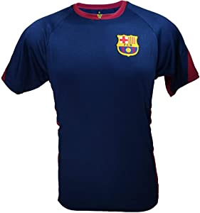 Icon Sports Men FC Barcelona Official Jersey, T-Shirt, Barcelona Jersey -008