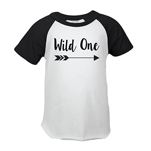 First Birthday Outfit Boy Wild One Year Old T Shirt 12 Months