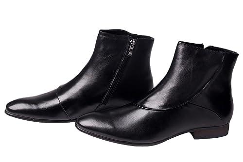 140df1573d96 Amazon.com   SANTIMON Mens Boots Leather Casual Western Dress Oxford ...