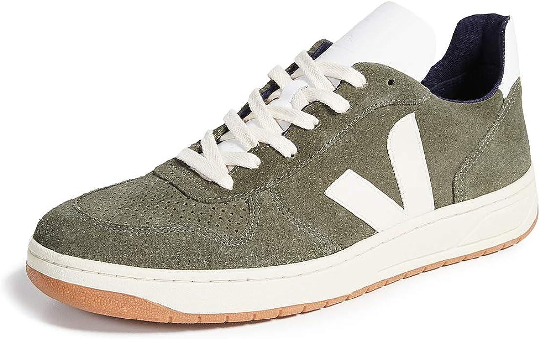 diseño elegante venta profesional zapatos casuales Amazon.com: Veja V-10 - Zapatillas de ante para hombre: Shoes