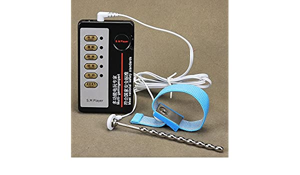 Amazon.com: Argus Clothing Ltd.new goods Electric Shock Sex Urethral Catheter Sounds Penis Plug Stainless Steel Catheters With Penis Ring Sex Toys For Men ...