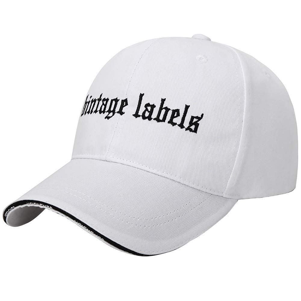 YEZIJIN Korean Casual Fashion Canvas Baseball Cap Travel Outdoor Cap Hat Summer Best 2019 New