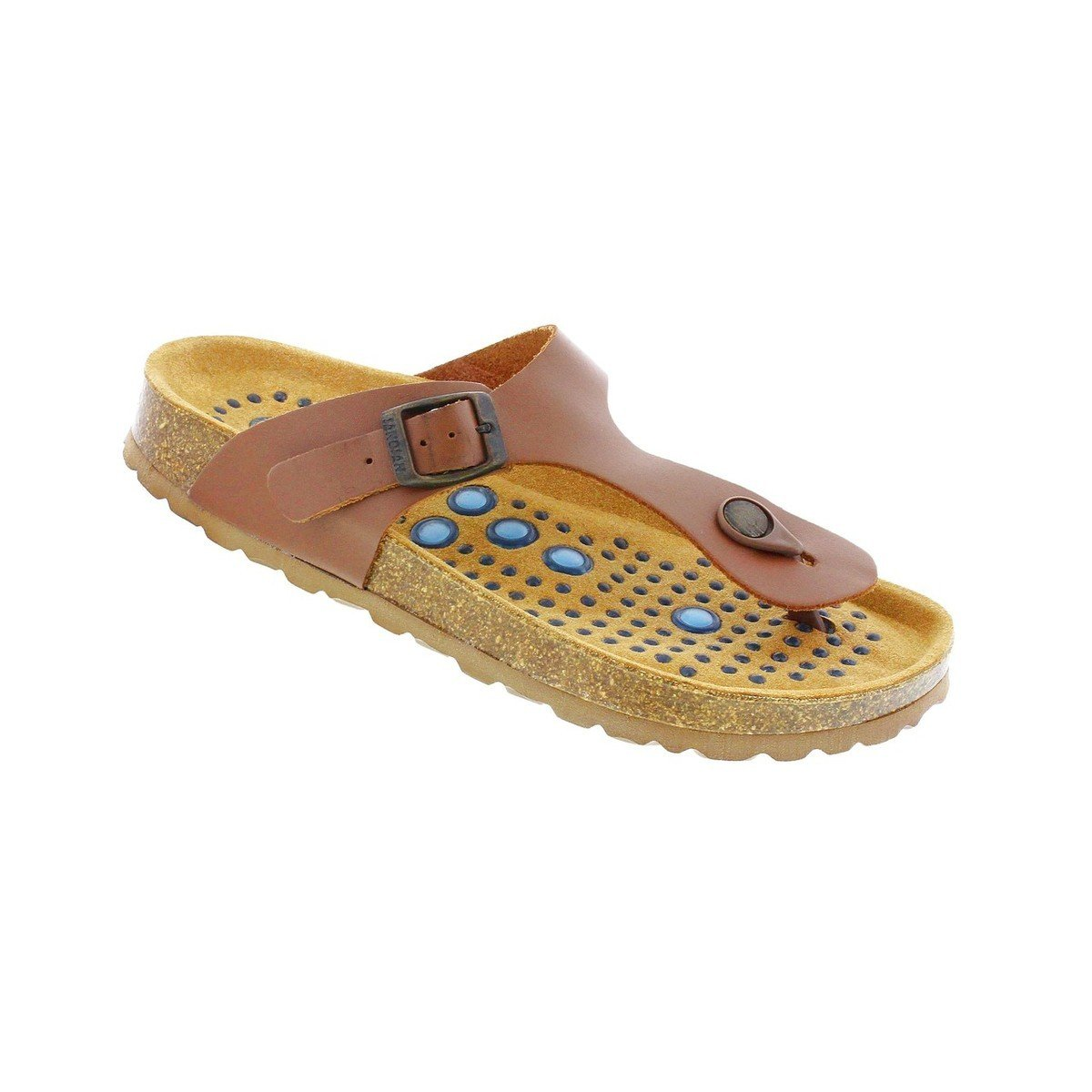 Sanosan Geneve Nappa Leather with Sietelunas Technology - Brown - 38 M EU / 7-7.5 B(M) US