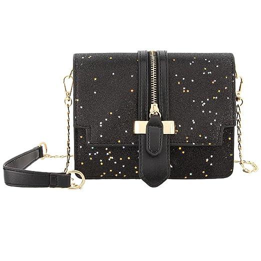 881fb021df25 Gabrine Womens Girls Fashion Elegant Shoulder Crossbody Bag Handbag Clutch  Purse Glitter Bling Sparkling Sequins Little