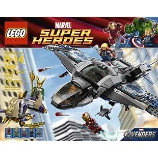 LEGO Quinjet Aerial Battle 6869
