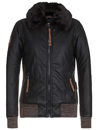 68d60b37f889 Naketano Damen Jacke Lattendicht Jacke  Amazon.de  Bekleidung