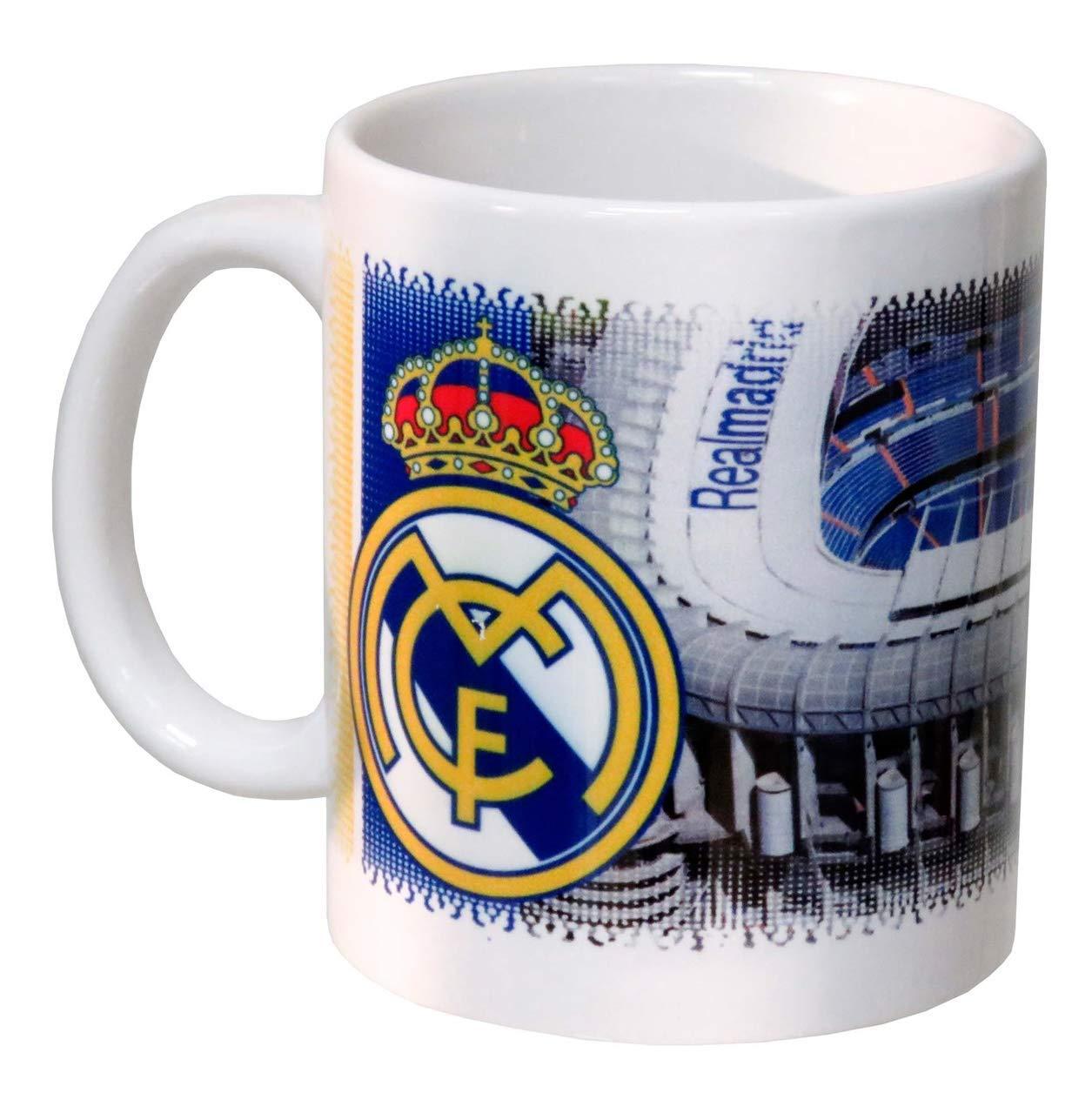 Real Madrid MG-12C-RM Taza de Cerámica Sublimación en Caja