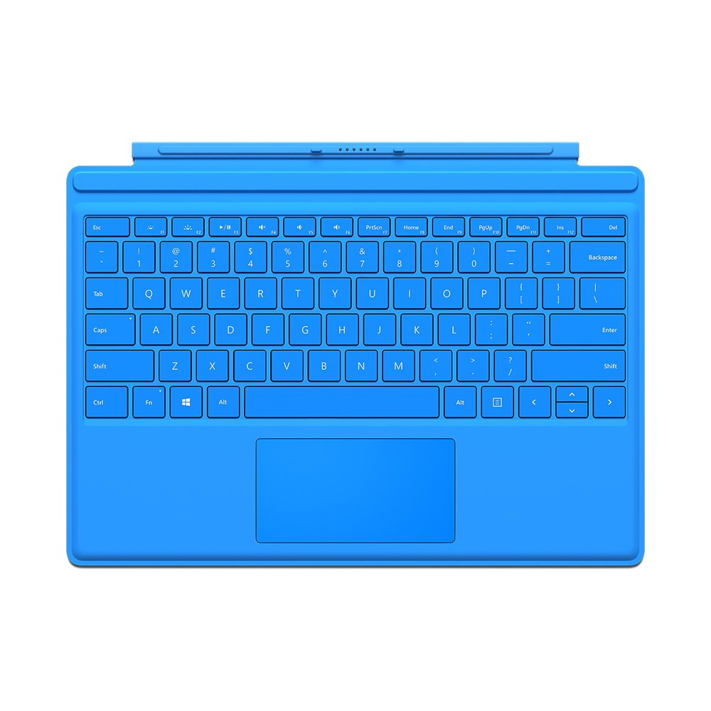 Microsoft Surface Pro 4 Type Cover Blue (English) QC7-00003