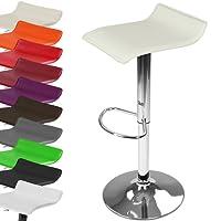 Miadomodo Sgabelli da bar cucina altezza regolabile 65-85 set & colore a scelta