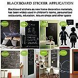 CUSFULL Self-Adhesive Blackboard Removable