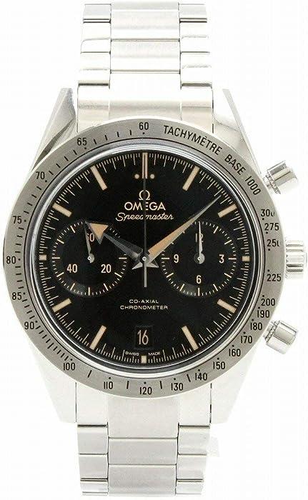 1c5e7eb410af Amazon | [オメガ] OMEGA スピードマスター 57 コーアクシャル デイト クロノグラフ ブラック文字盤 メンズ AT オートマ 腕時計  331.10.42.51.01.002 | OMEGA(オメガ) ...