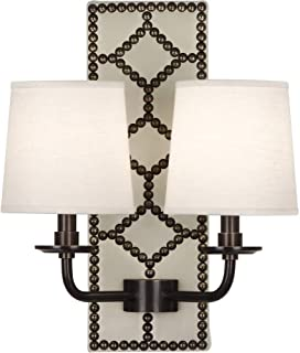 product image for Robert Abbey Z1032 Williamsburg Lightfoot - Two Light Wall Sconce, Choose Finish: Deep Patina Bronze